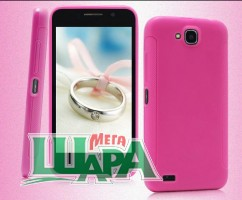 Фото 1 - MS Standart Silicon Case Fly IQ446 Pink