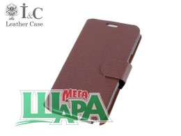 Фото 1 - I&C Luxury Leather Book Case HTC Desire 400 Dual Sim (One SU/T528w) Brown