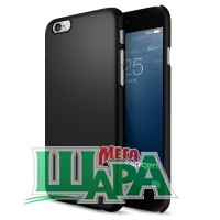 Фото 1 - SGP Case Thin Fit iPhone 6 Smooth Black SGP10936
