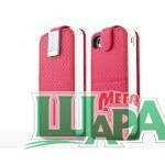 Фото 1 - Capdase Folder Case Upper Polka Red for iPhone 4/4S (FCIH4S-UP9G)