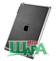 Фото 1 - SGP Premium Cover Skin Deep Black Leather for new iPad 4G LTE / Wifi