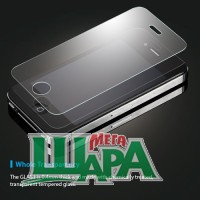 "Фото 1 - SGP Oleophobic Coated  Tempered Glass ""Glas T"" for iPhone 4/4S (SGP08645)"