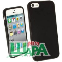 Фото 1 - MS Standart Silicon Case iPhone 5S/5 Black