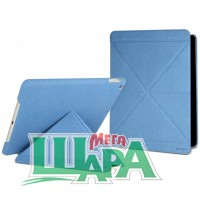 Фото 1 - Cygnett Paradox Texture Flexi-folding folio case for iPad Air Blue (CY1326CIPTE)