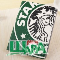 Фото 1 - Starbucks Leather Slim Case for iPad Air with Stand Sleep & Wake Green