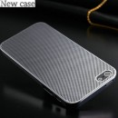New case Deluxe 0,3mm Ultra Thin Titanium Perforation for iPhone 5/5S Silver