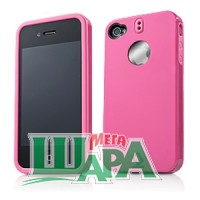 Фото 1 - Capdase Polimor Protective Case Polishe Candy Pink/Candy Pink for iPhone 4 (PMIH4-51PP)