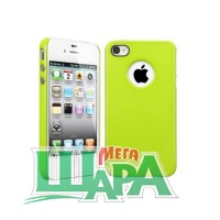 Фото 1 - SGP Case Ultra Thin Air Pastel Series Lime for iPhone 4/4S (SGP08385)