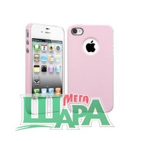 Фото 1 - SGP Case Ultra Thin Air Pastel Series Sherbet Pink for iPhone 4/4S (SGP08382)