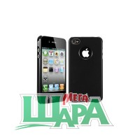 Фото 1 - SGP Case Ultra Thin Air Pastel Series Soul Black for iPhone 4/4S (SGP08378)