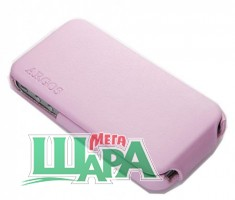 Фото 1 - SGP Leather Case Argos Pink for iPhone 4/4S (sgp06830)