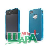 Фото 1 - Capdase Soft Jacket 2 Xpose for iPhone 4G/4S Blue (SJIH4-P203)