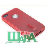 Фото 1 - Capdase Soft Jacket 2 Xpose for iPhone 4G/4S Pink