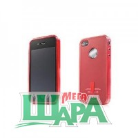 Фото 1 - Capdase Soft Jacket 2 Xpose for iPhone 4G/4S Red