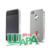 Фото 1 - Capdase Soft Jacket 2 Xpose for iPhone 4G/4S Grey