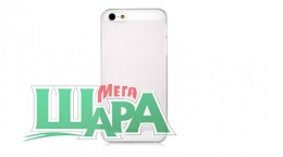 Фото 1 - Nuoku FRESH Series Soft-touch Color Cover for iPhone 5 Clear