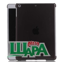 Фото 1 - iQulite Protective Hard Plastic Back Case Cover for iPad Air Black/Transparent